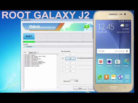 How to Root Galaxy J2  - ROOT GALAXY J2