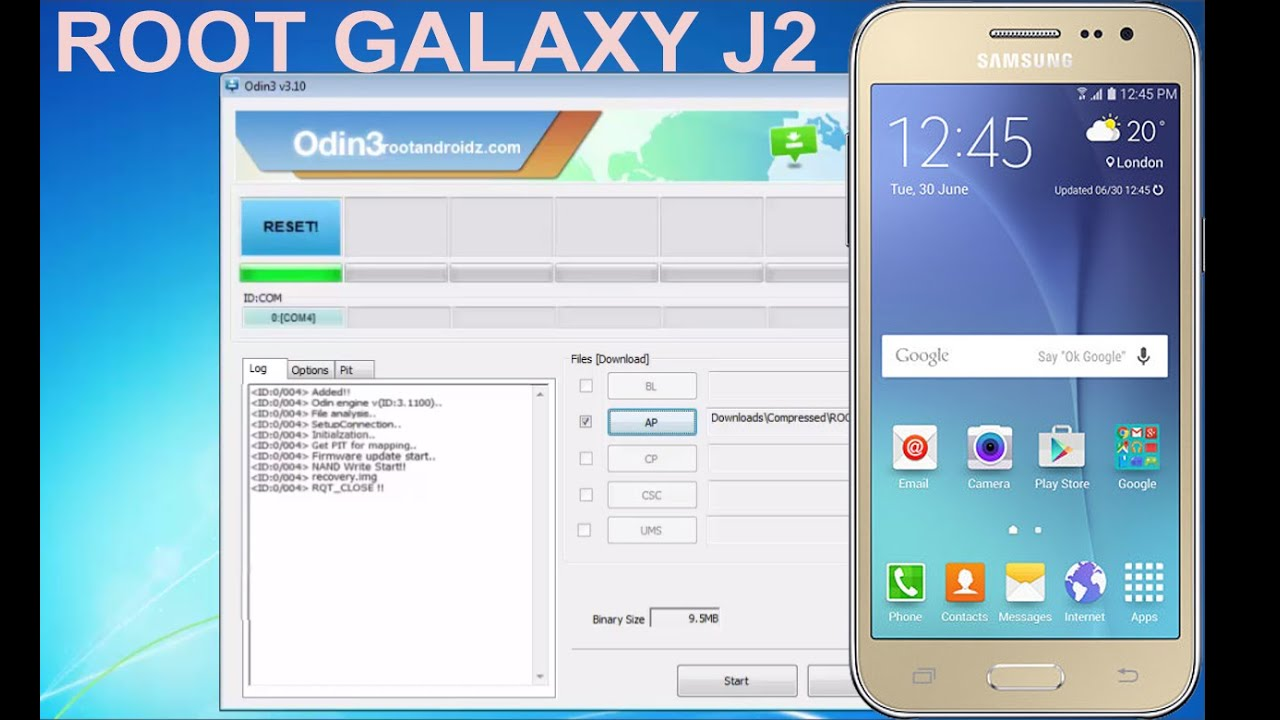 GALAXY J2 SM-J200H/M/F/G/Y REPAIR FIRMWARE - WITHOUT ODIN