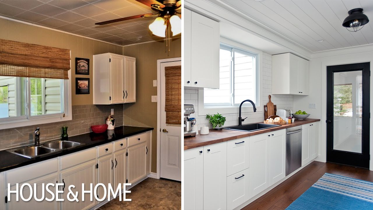 Kitchen Reno Curtain Ideas Budget Friendly Cottage Youtube