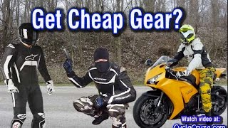 Get Cheap Unknown Brand Motorcycle Gear? | Moto Vlog