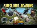 Best Secret High Loot Location in PUBG mobile Lite | Flare Gun Secret Location
