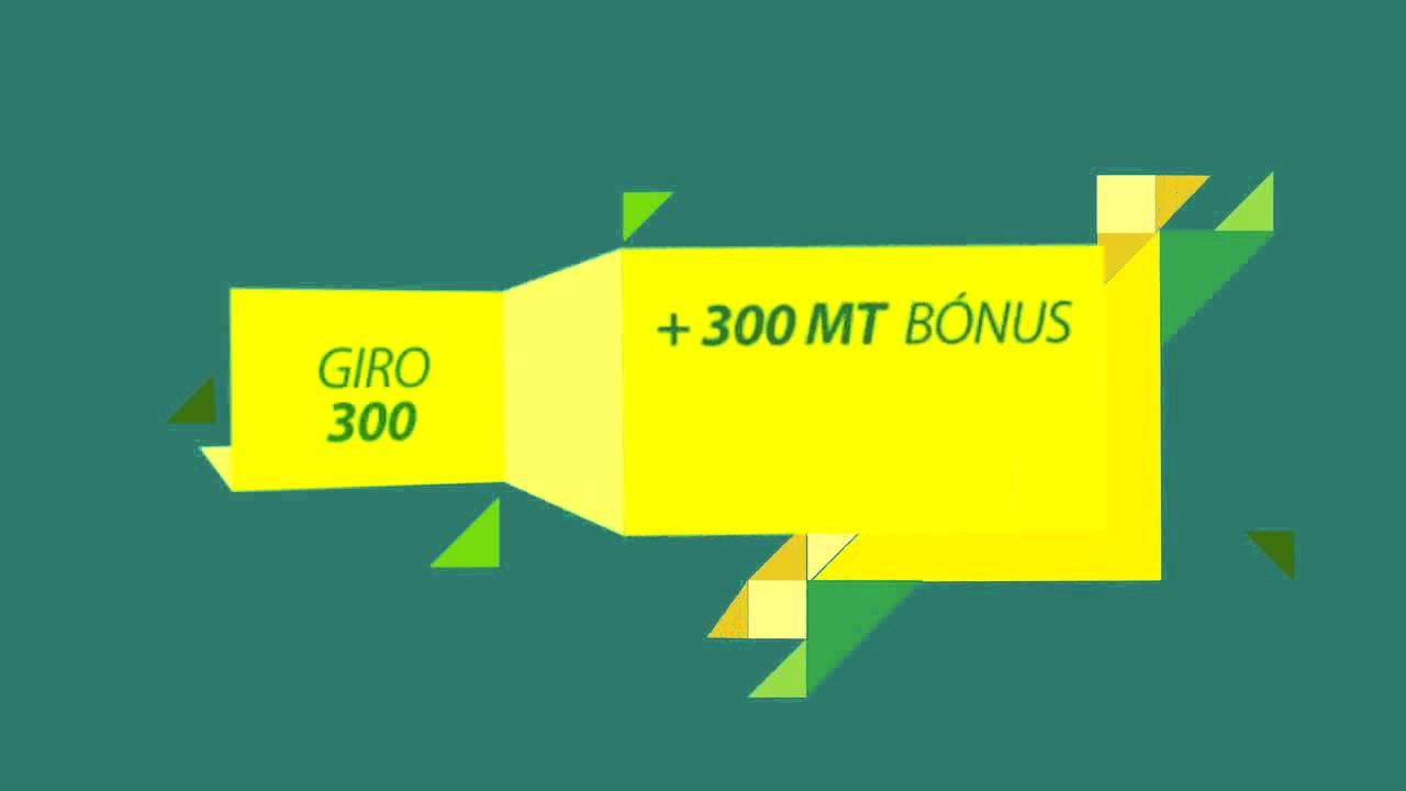 MCEL Promoção Recargas Giro