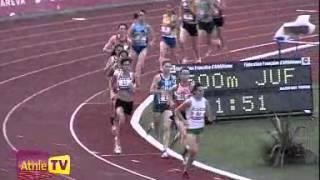 Bondoufle 12 juillet 2009 1500M femmes Frances juniors