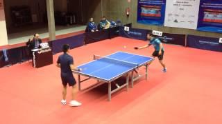 Endika Díez - Kou Lei (Spanish Table Tennis Superdivision 2014/15) Set 3 of 3