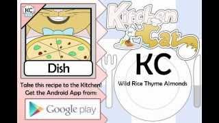 Wild Rice Thyme Almonds - Kitchen Cat