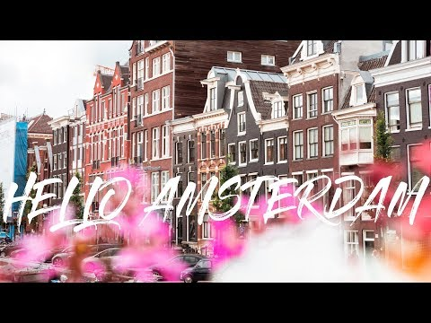 2 Minute Daily Travel Vlog || Netherlands - Hello Amsterdam