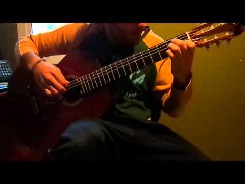 Saratoga - Si Amaneciera (cover guitarra española, intro)