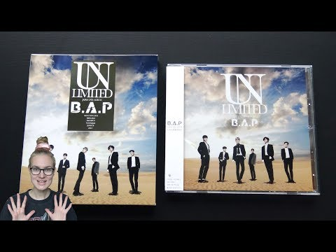 Unboxing B.A.P 2nd Japanese Studio Album Unlimited [Type A & B Edition]