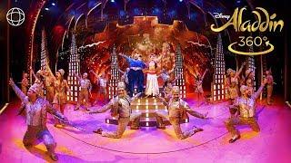 """Friend Like Me"" 360° Performance - ALADDIN on Broadway"