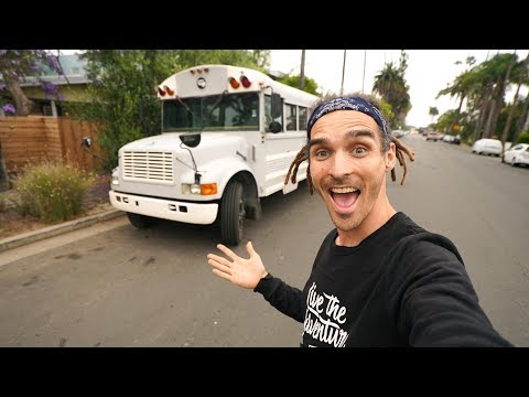 BACK WITH MY BUS!