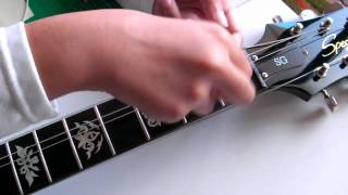 """How To Apply """"Fret Markers"""" for fingerboard // Inlay Stickers"""