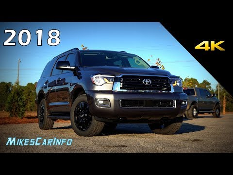 2018 Toyota Sequoia TRD Sport - Detailed Look in 4K