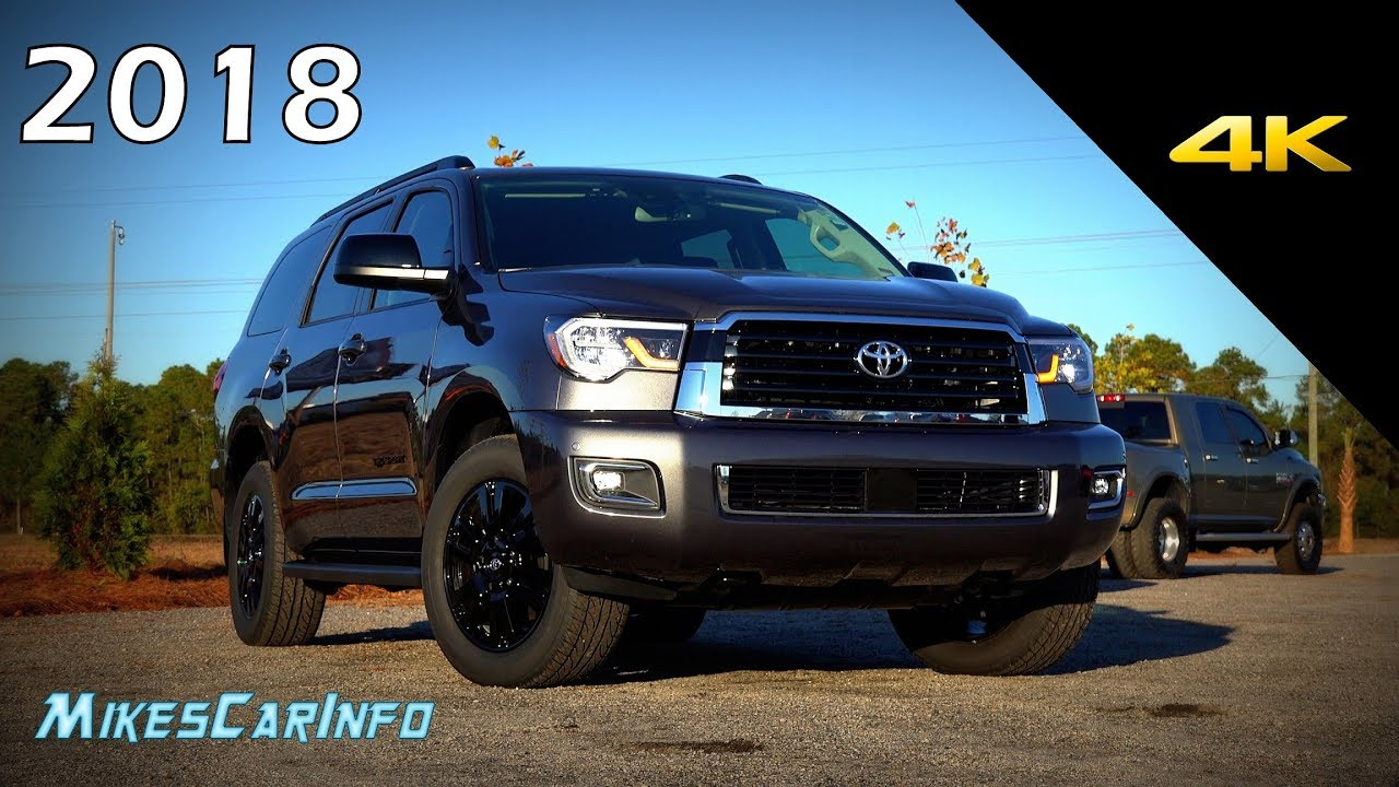 2018 Toyota Sequoia Trd Sport Detailed Look In 4k