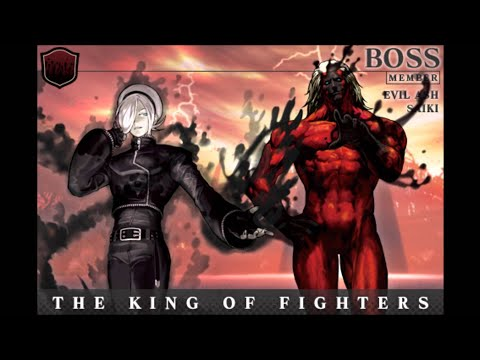 Dark Ash + Boss Saiki UNLOCKED! Kof XIII