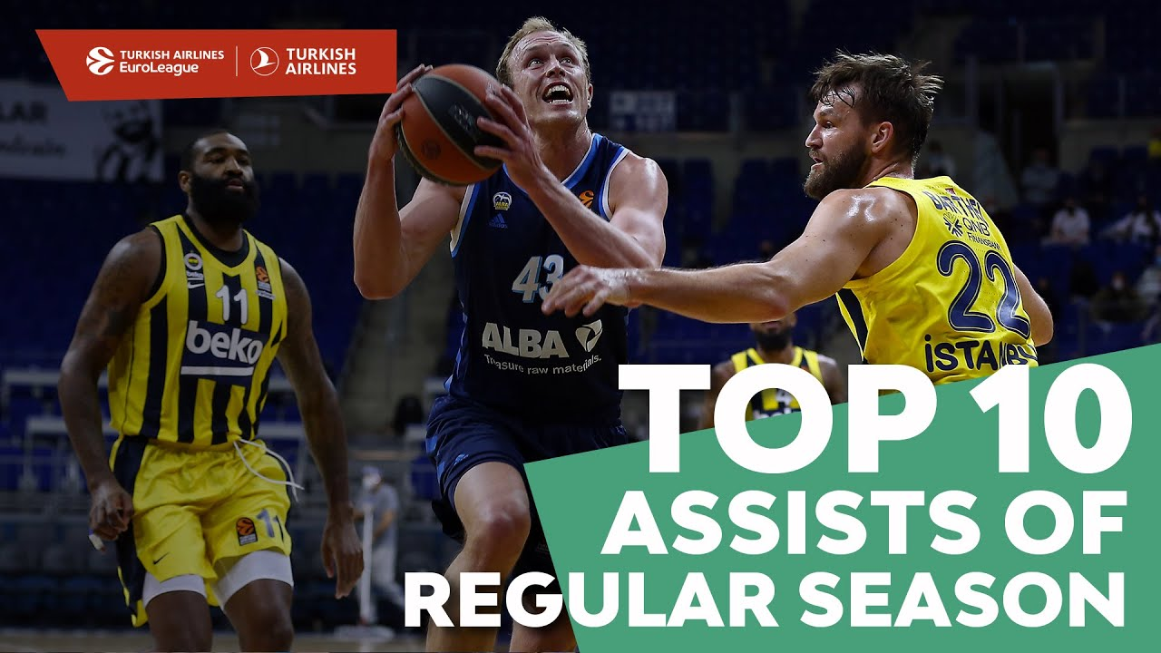 Turkish Airlines EuroLeague, Top 10 Assists of Regular Season!