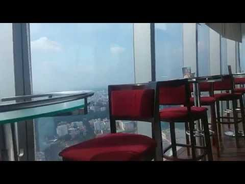 City view from EON Heli Bar - Level 52 - Bitexco Financial Tower, HCMC, Vietnam