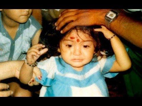 ACTRESS ANUSHKA SHARMA CUTE CHILDHOOD PHOTOS