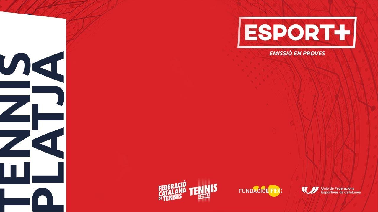 Trofeu Internacional Ciutat de Barcelona de Tennis Platja.