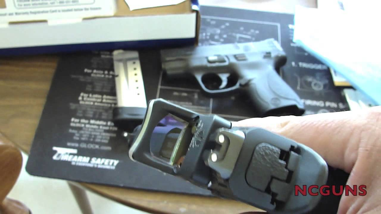 Smith And Wesson 12039 Unboxing: Smith & Wesson's M&P SHIELD 9MM Unboxing
