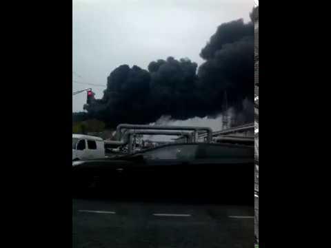Взрыв ТСП на Лукойле (Кстово)