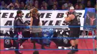 Bully Ray Gives Warning to AJ Styles But is Stopped by Mr. Anderson - Oct. 24, 2013