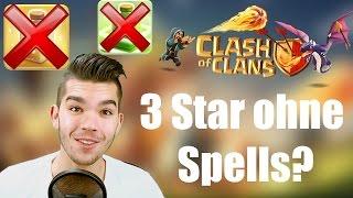 CLASH OF CLANS: 3 Star ohne Spells? ✭ Let's Play Clash of Clans [Deutsch/German HD]
