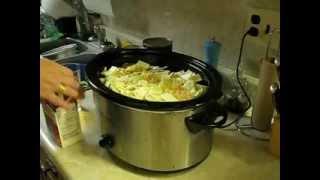 How To Make A Crock Pot Hearty Hamburger Soup - My Way