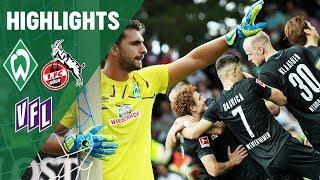 Josh Sargent Siegtreffer & Stefanos Kapino Paraden | SV Werder Bremen vs. 1. FC Köln & VFL Osnabrück