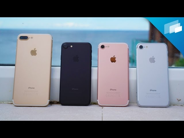 Iphone 7 Color Comparison What S Your Favorite Color Youtube