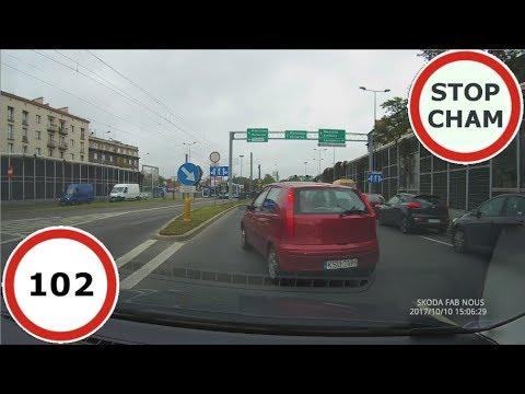 Stop Cham #102 – Niebezpieczne i chamskie sytuacje na drogach
