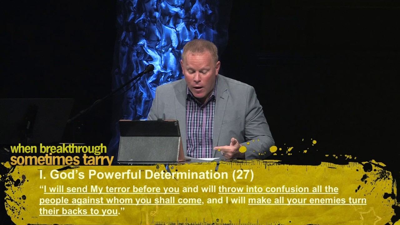 Why Breakthrough Sometimes Tarry