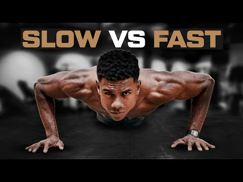 The BEST Rep Speed for PUSHUPS {Explained}