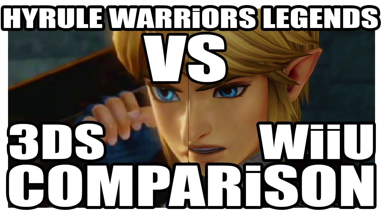 Comparison Hyrule Warriors Legends Old 3ds Vs New 3ds Low Fps Low Details More Youtube