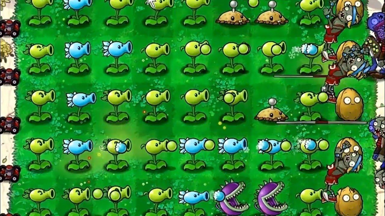 Plants vs Zombies Adventure Gameplay Level 1 - 10 (Part 7) - YouTube