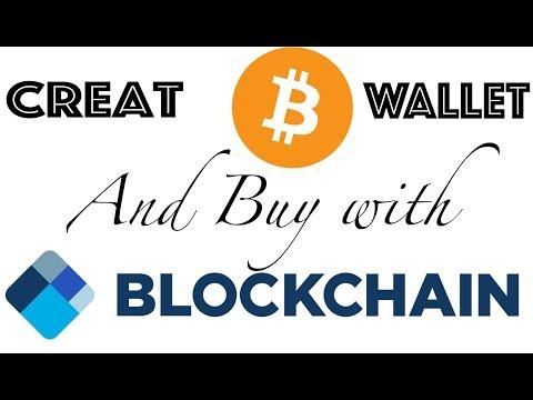 Creating Bitcoin Wallet in Blockchain