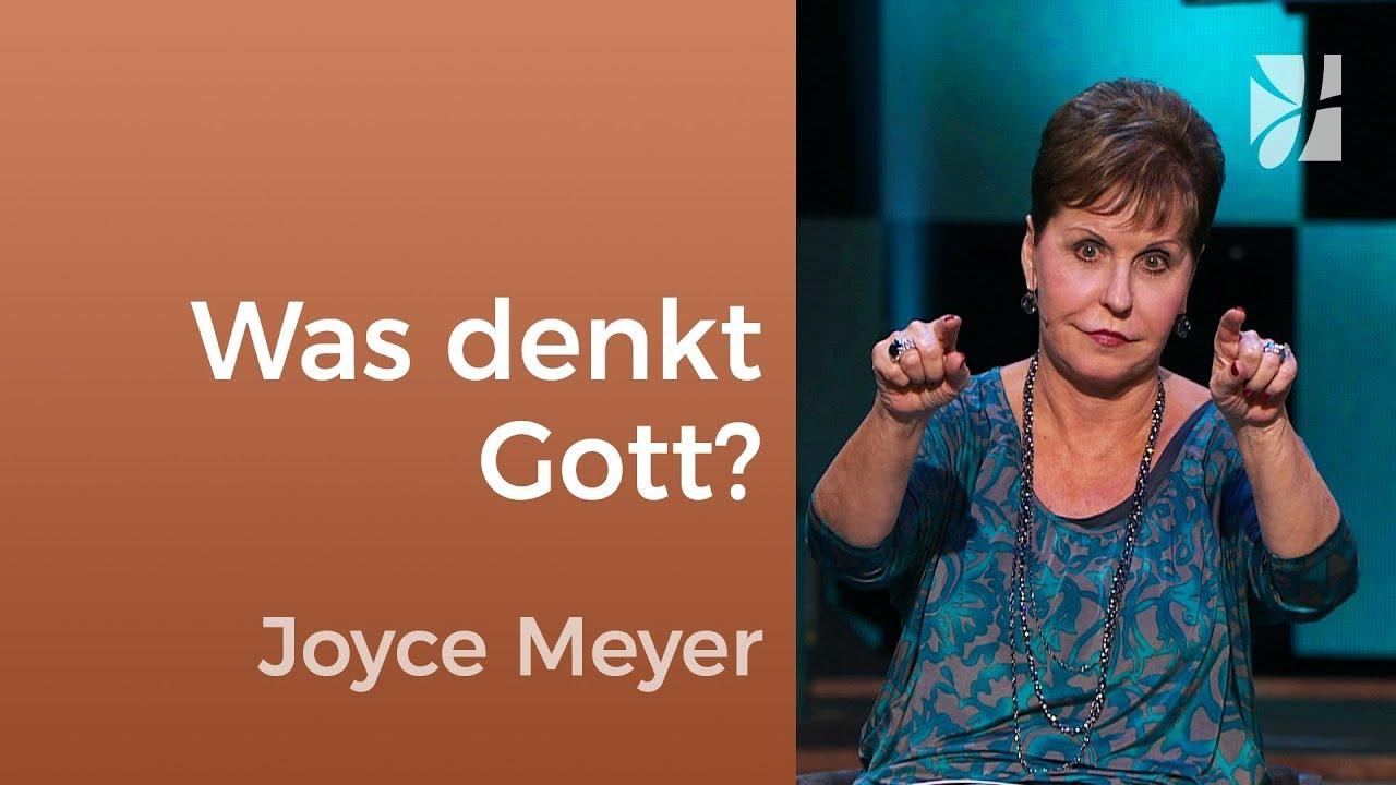Lass dich auf Gottes Gedanken ein – Joyce Meyer – Persönlichkeit stärken