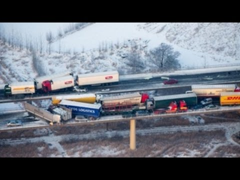 The Scariest Truck Crashes and Road Accidents of All Time - Part 4