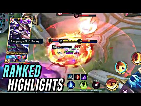 SUPER AGGRESSIVE FANNY MONTAGE !! | FANNY RANKED HIGHLIGHTS | MLBB