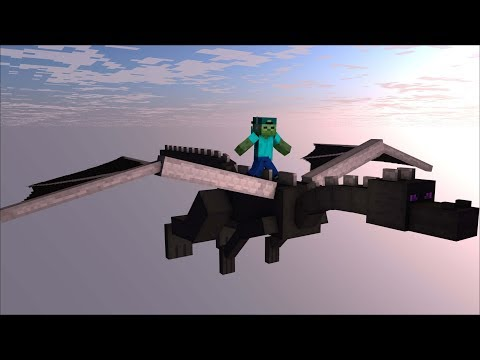 MINECRAFT HOW TO TRAIN YOUR MINECRAFT DRAGON / TRAINING DRAGONS !!!!