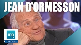 Jean d'Ormesson chez Thierry Ardisson | Archive INA