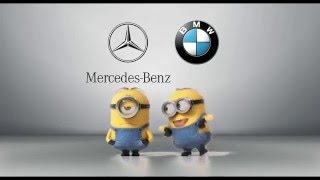 Mercedes-Benz vs. BMW Schergen Stil