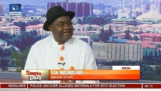 Emergence Of CUPP Poor Imitation Of APC Did To PDP In 2015 - Magnus Abe |Sunrise Daily|