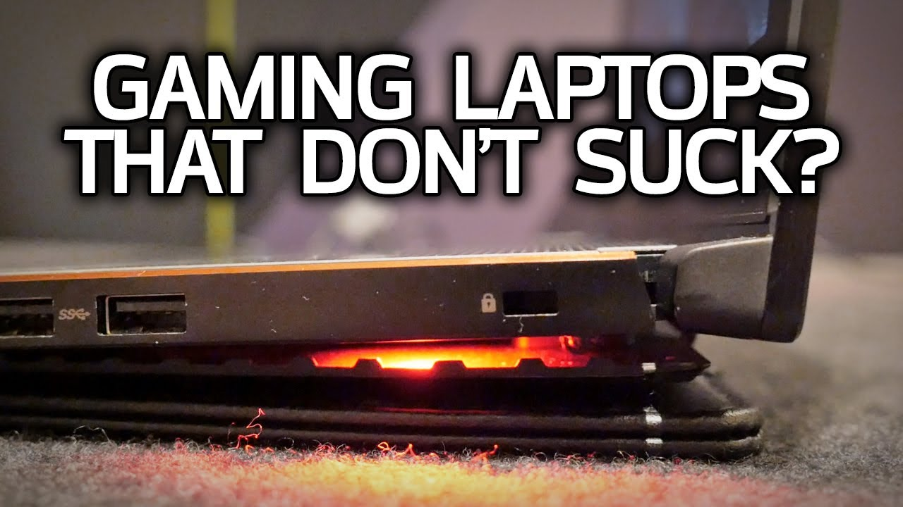 Can a Gaming Laptop be Thin & Quiet? Explaining NVIDIA Max-Q