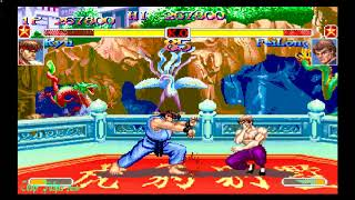 Super Street Fighter 2 Turbo - Ryu (3DO) Hardest
