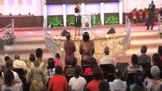 The anointing of David by Pastor Imelda Namutebi Kula