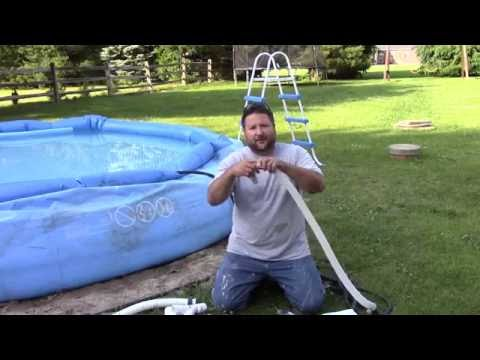 how to clear my saltwater pool
