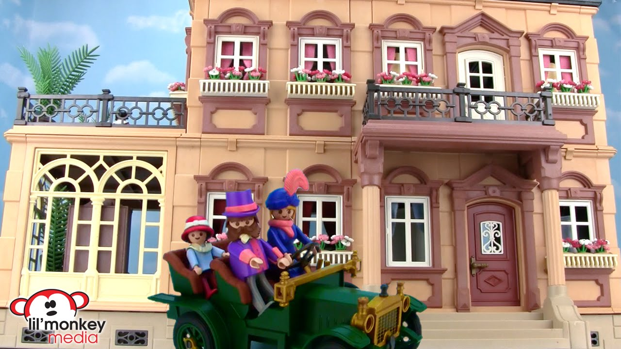 Retro Playmobil Victorian Mansion Youtube