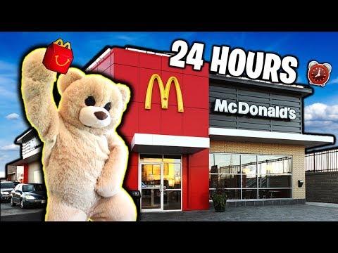 SPENDING 24 HOURS as GIANT TEDDY BEAR!