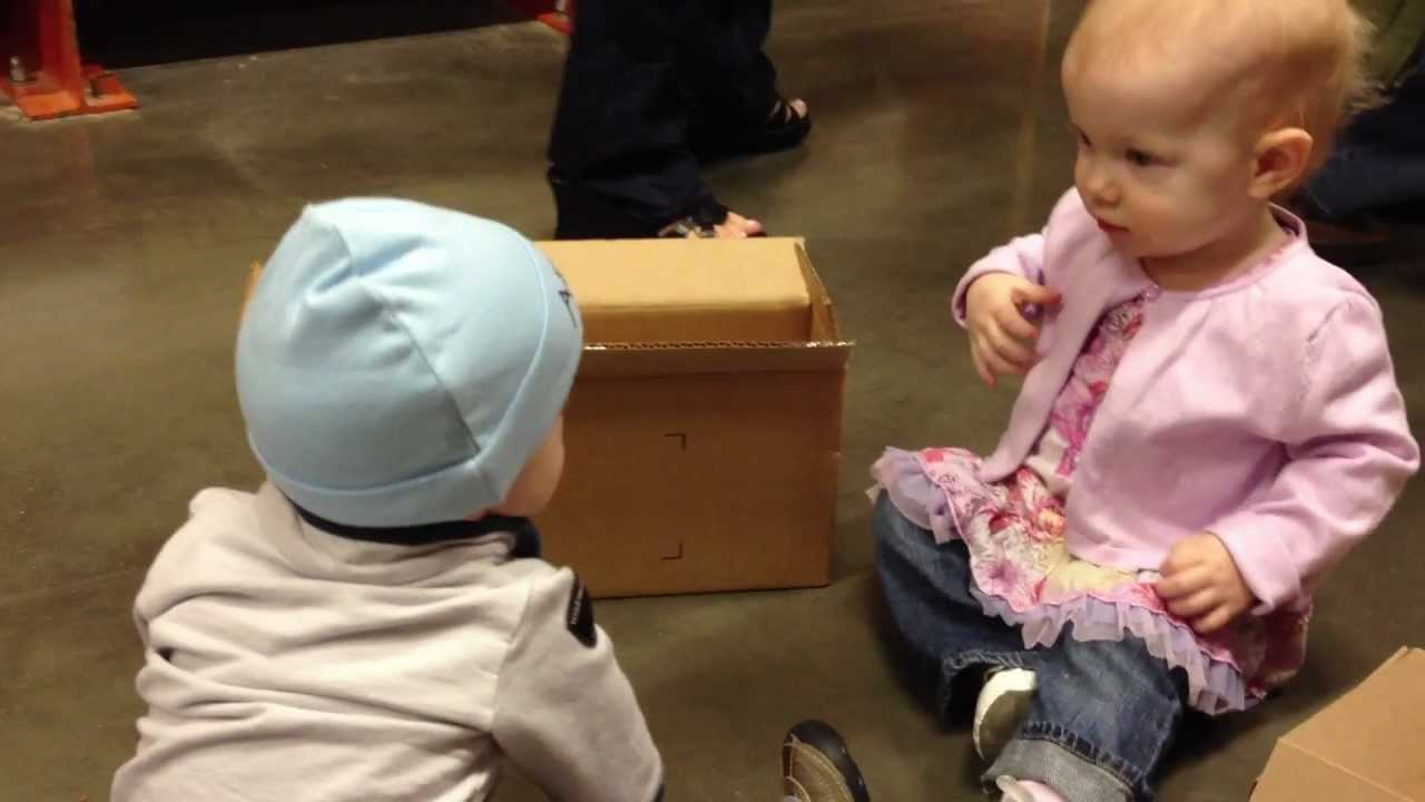 Birthday Party At Home Depot And Cute Baby Playing With Books