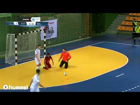 """BETSAFE-Futsal A lygos 11 TURO rungtynės: Kauno """"Vytis"""" - Panevėžio """"Baltija"""""""
